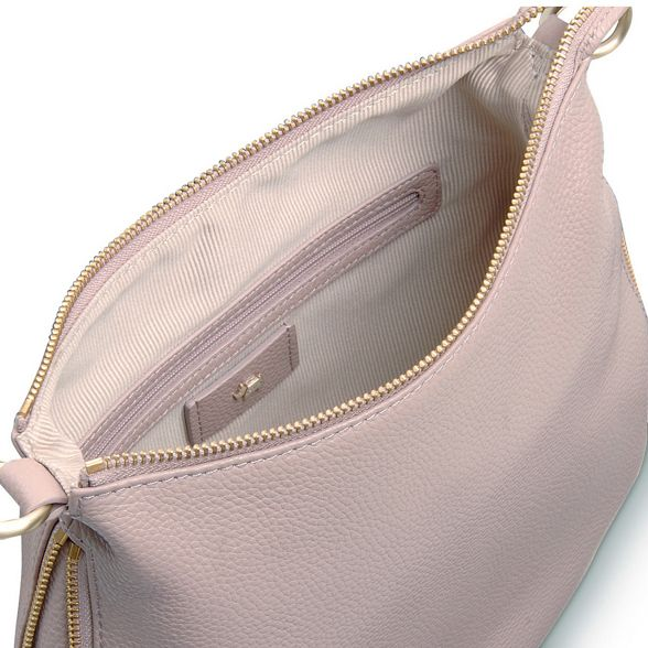 'pudding bag large Light cross body grey Radley leather lane' 4qBxIw8w