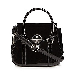 The Collection - Black patent small grab bag