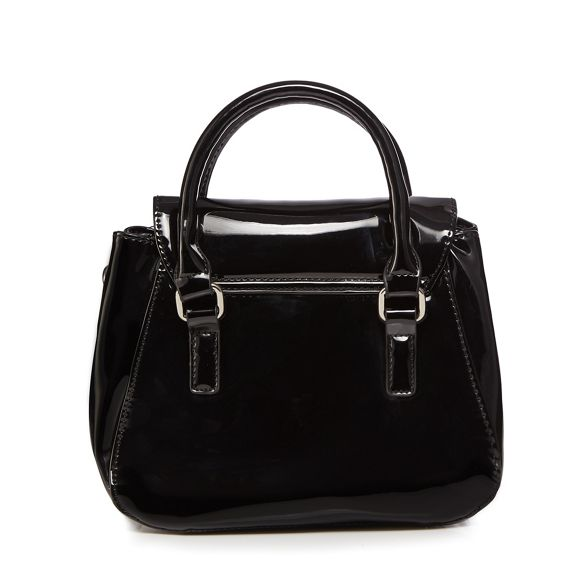 Collection grab Black bag small patent The awF6qw
