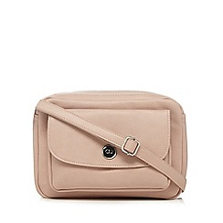 The Collection - Light pink camera organiser cross body bag