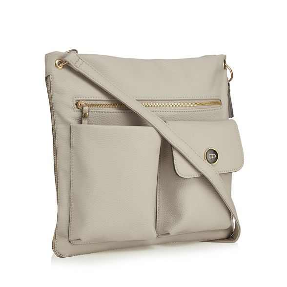Collection pocket shoulder bag double The Grey aqdwa8