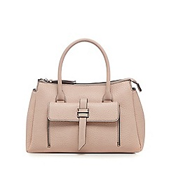 The Collection - Light pink front tab tote bag