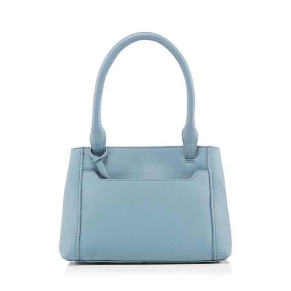 a The leather grab with Collection bag blue purse Light xaarq0zvP