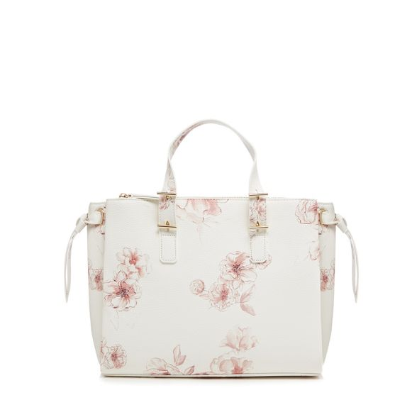 print tote Collection White The bag floral tw1fAq4