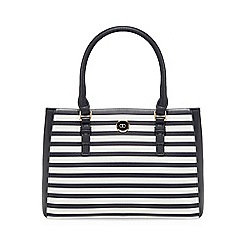 The Collection - Multicoloured striped print grab bag