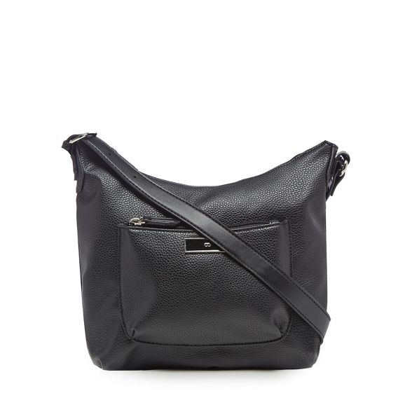The cross bag Collection pocket front Black body rqrwBv