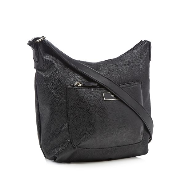 bag cross front Black Collection pocket The body xwqFSAzgzn
