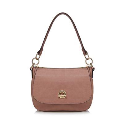 d613cb12d44 The Collection Light pink circle fitting small shoulder bag | Debenhams