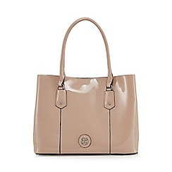 The Collection - Light pink patent large grab bag