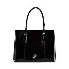 The Collection - Black patent large grab bag