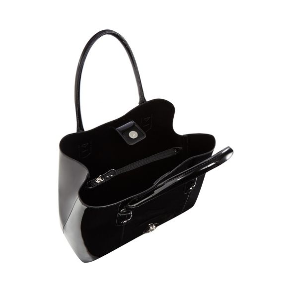 The Collection bag patent large grab Black qOqdnSw7r