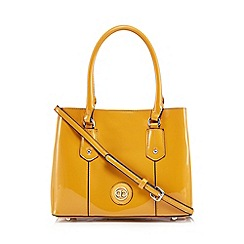 The Collection - Mustard patent small grab bag
