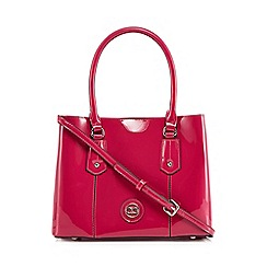The Collection - Bright pink patent small grab bag