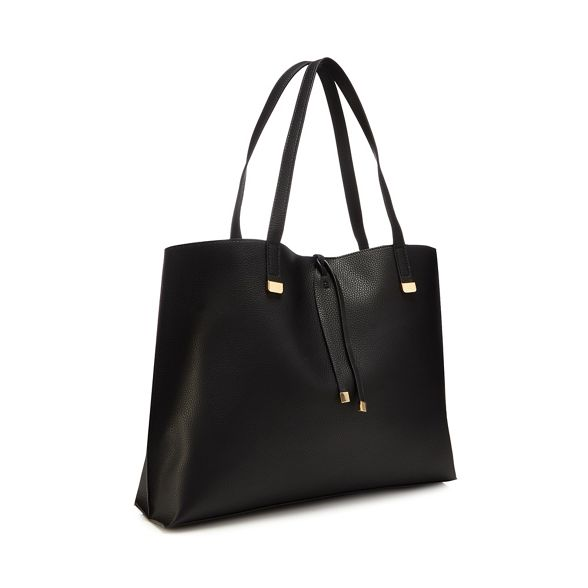 detail shopper bar bag Collection Black The pqwAtaxYWc