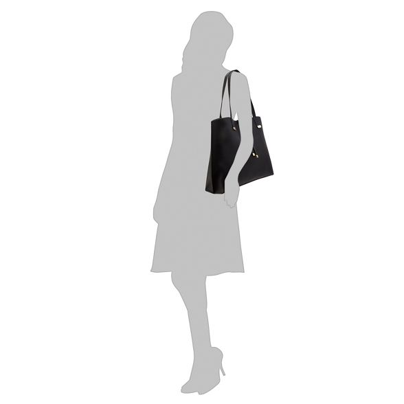 Black bar Collection The shopper detail bag Zx45SSYwaq