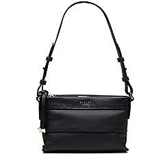 Radley - Small black leather 'Hampstead Heath' shoulder bag