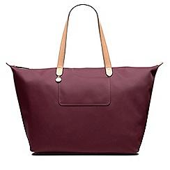 Radley - Large pink 'Pocket Essentials' weekender tote bag