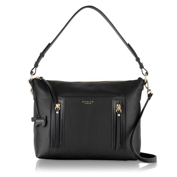 black 'Northcote leather bag Radley Medium Road' multiway zBPqppx0