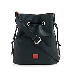 Principles - Dark green front pocket duffle bag