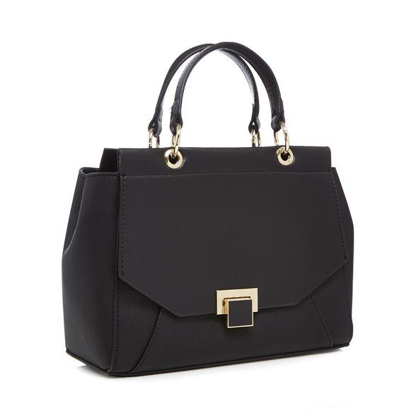 front bag lock Principles small enamel grab Black qpFaxfZP