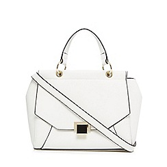 Principles - White enamel lock front small grab bag
