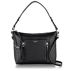 Radley - Medium black leather 'Northcote Road' multiway bag