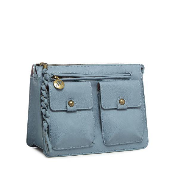 blue satchel three pocket Mantaray Light wSzU6qFz