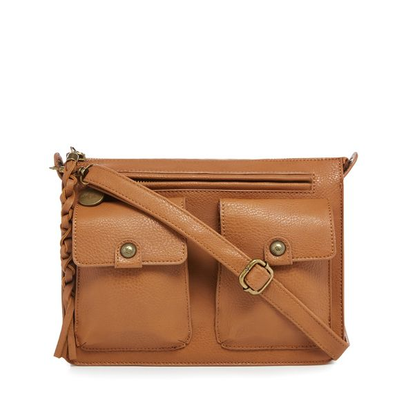 satchel Tan Mantaray Mantaray satchel three three pocket three Mantaray Tan pocket pocket Tan zxw71qZ
