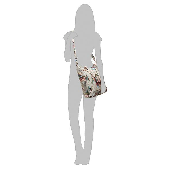coloured bucket Mantaray floral bag Multi print 4OHvw7Hq