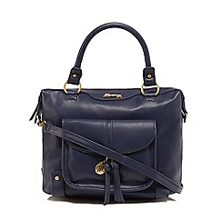 Mantaray - Navy front pocket bowler bag