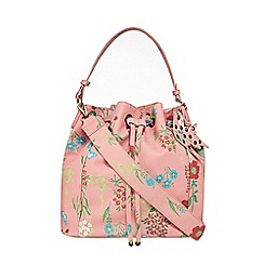 Mantaray - Pink floral print duffle bag