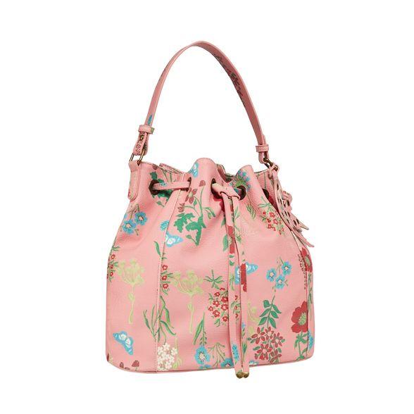 print floral bag Mantaray Pink duffle EBpxwnvaqg
