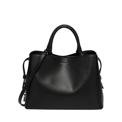 Fiorelli Black Bethnal Triple Compartment Bag