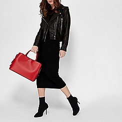 Fiorelli - Red 'Bethnal' triple compartment tote bag