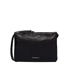 Fiorelli Black Bunton Double Compartment Crossbody Bag