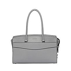 Fiorelli - Light grey Islington flapover tote bag