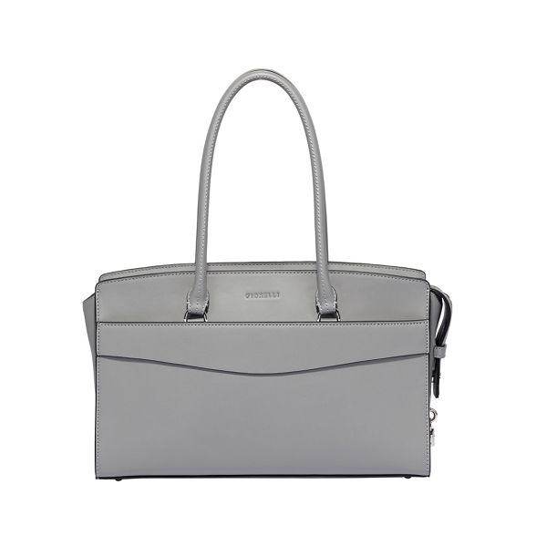tote flapover Islington grey bag Light Fiorelli cwqAYSTT