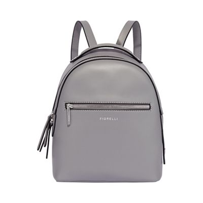 3082929acfc3 Fiorelli Light grey anouk small backpack