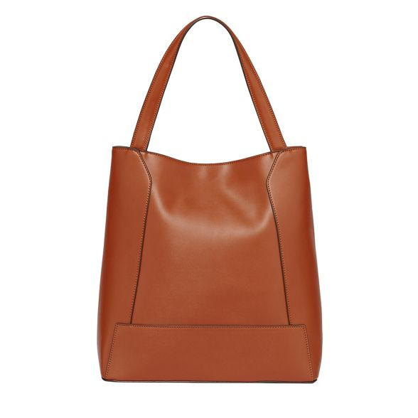 large Tan berlin bag tote panelled Fiorelli 4EdFgxPnF