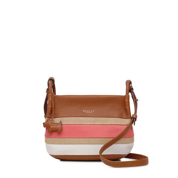 crossbody bag Tan small Street' Radley 'Wren RwI8qTX