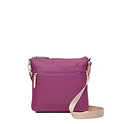 Radley - Small pink 'Pocket Essentials' cross body bag