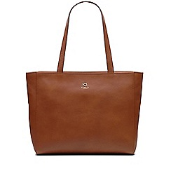 Radley - Tan greyfriars gardens large zip top tote bag