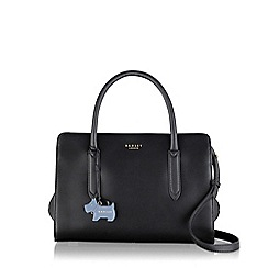 Radley - Black medium leather 'Liverpool Street multiway grab bag