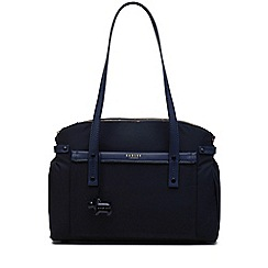 Radley - Large navy 'River Street' multi-compartment tote bag
