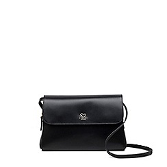 Radley - Black leather 'Millbank' medium multiway bag