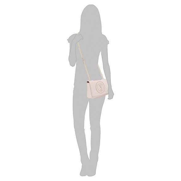 Versace studded body Jeans Pink cross bag xxqnPvOrw7