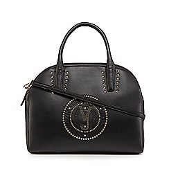 Versace Jeans - Black studded triple compartment grab bag