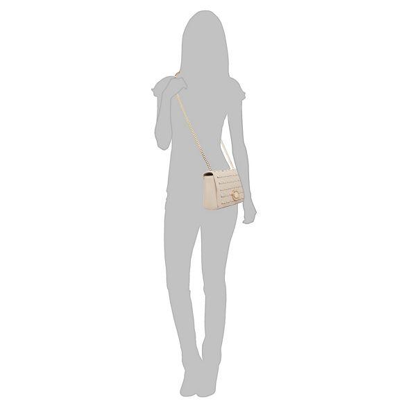 body bag Jeans cross interlace Cream Versace 8cIqUBaU