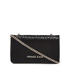 Versace Jeans - Black quilted purse bag 15a4d7f9d5487