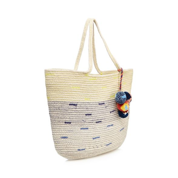 Nine straw bag by Navy Miller Savannah shopper 8nFq8pw
